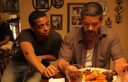 Rashaad Ernesto Green and Esai Morales