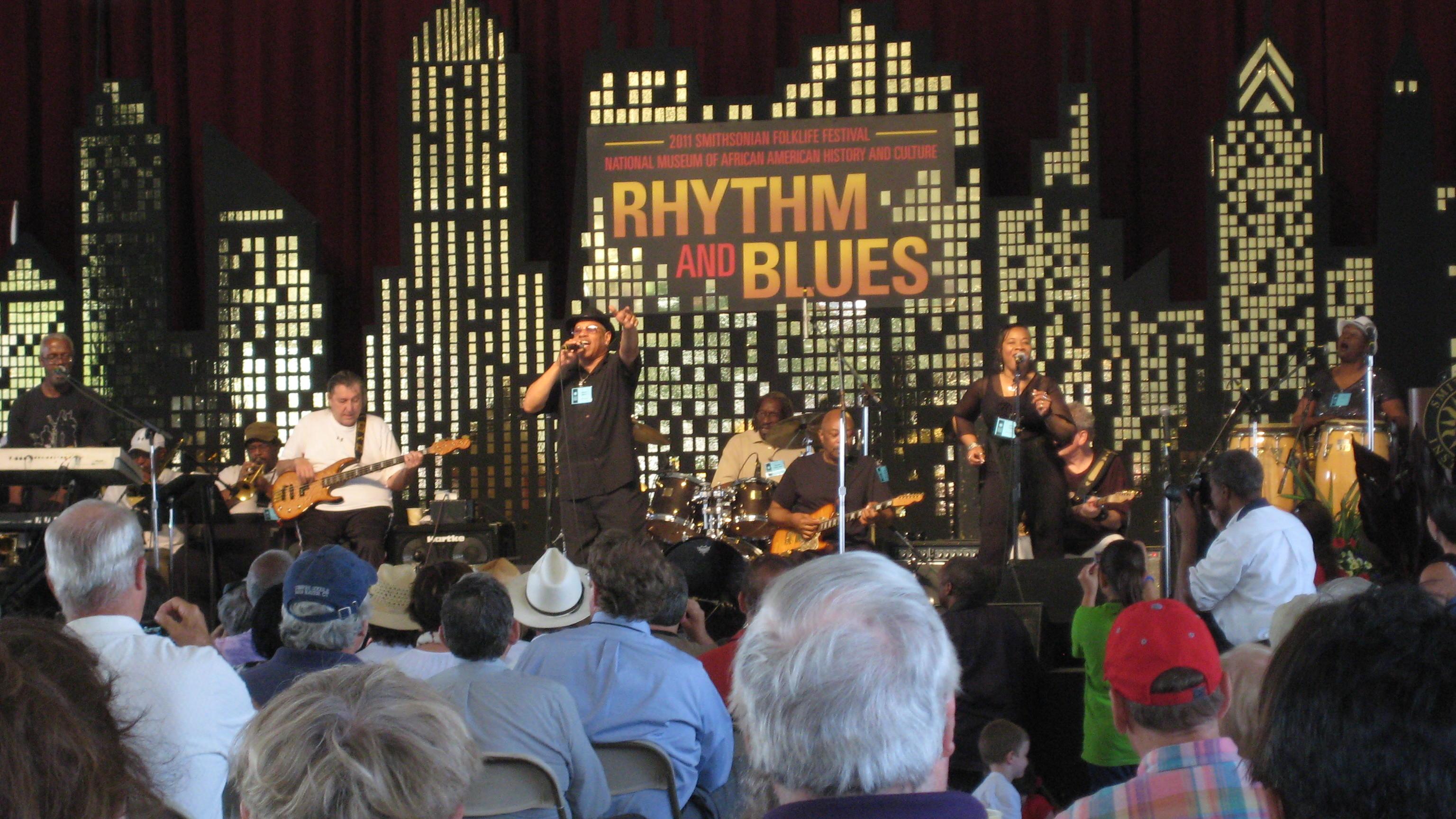 Funk Brothers, 2011 Folklife Festival, Washington, DC