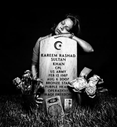 Eisheba Khan, mother of Kareem Rashad Kultan Khan.  Photo by Platon.