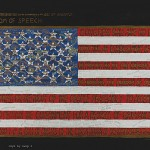 """Freedom of Speech\"" by Faith Ringgold"
